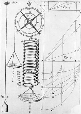 Invention Of Motion Photograph - Hooke: Measuring Devices by Granger