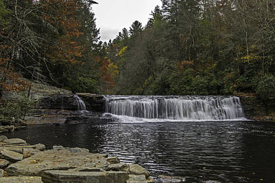 Photograph - Hooker Falls In Dupont State Forest Nc by Willie Harper