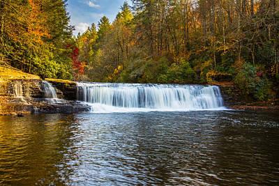 Photograph - Hooker Falls by John Haldane