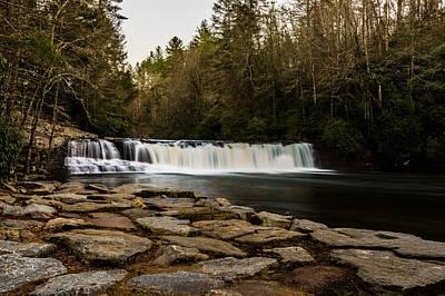 Photograph - Hooker Falls by Randy Scherkenbach