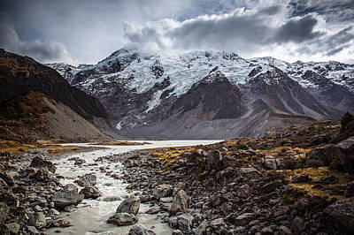 Photograph - Hooker Valley by Brad Grove