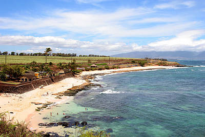 Photograph - Hookipa Beach On Maui by John Orsbun
