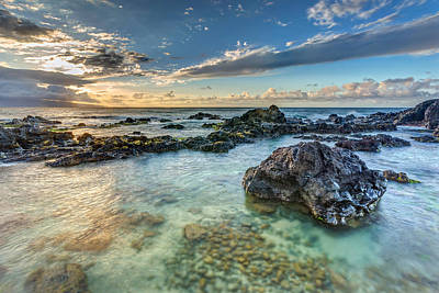 Photograph - Ho'okipa Sunset by Pierre Leclerc Photography