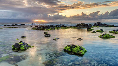 Photograph - Ho'okipa Sunset Rays by Pierre Leclerc Photography