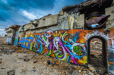 Abandonded Photograph - Hooks by Randy Scherkenbach