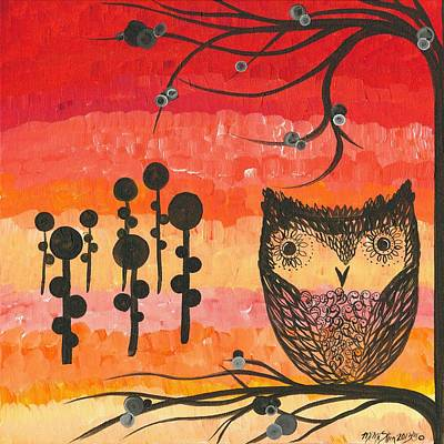 Painting - Hoolandia Contrast 01 by MiMi  Stirn