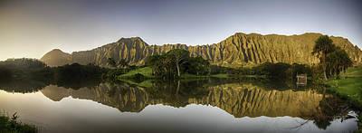 Photograph - Hoomaluhia Sunrise by Dan McManus