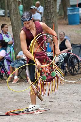 Photograph - Hoop Dance - Nanticoke Powwow - Delaware by Kim Bemis