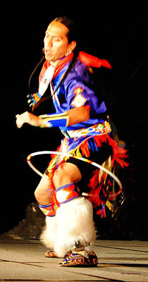 Photograph - Hoop Dancer II by DiDi Higginbotham