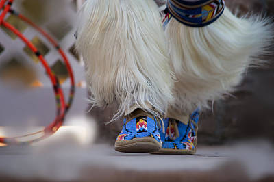 Food And Flowers Still Life Rights Managed Images - Hoop Dancers Footwork 1 Royalty-Free Image by Carolina Liechtenstein