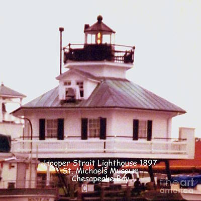 Photograph - Hooper Strait Lighthouse 1897 by John Potts