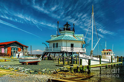 Photograph - Hooper Strait Maryland by Nick Zelinsky
