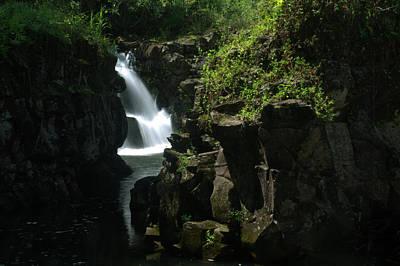 Photograph - Hoopii Falls Kauai by Brian Harig