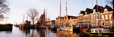 Port Town Photograph - Hoorn, Holland, Netherlands by Panoramic Images