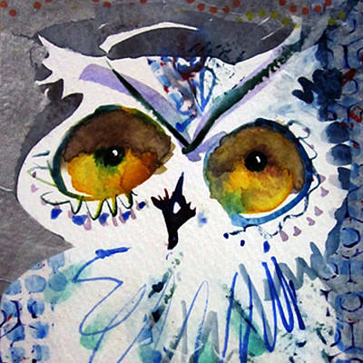 Painting - Hoot Cropped by Laurel Bahe
