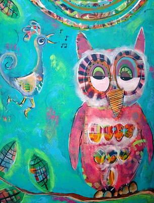 Hoot Hoot Original by Carla MacDiarmid