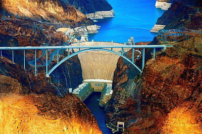 Photograph - Hoover Dam by Amanda Miles