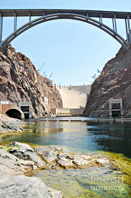 Photograph - Hoover Dam Bridge  by Mindy Bench