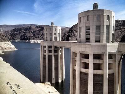 Hoover Dam Art Print by Derek Conley