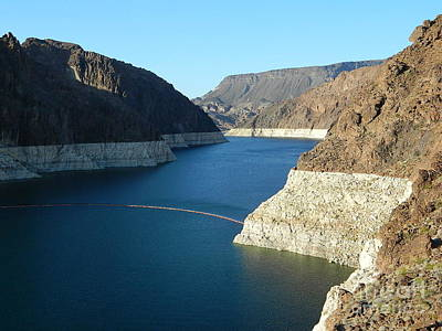 Hoover Dam In May Print by Emmy Marie Vickers
