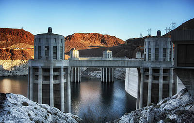 Hoover Dam Art Print by Kim Andelkovic