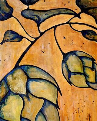 Painting - Hop Extract by Alexandra Ortiz de Fargher