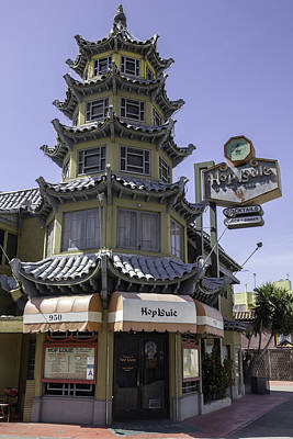 Tlk Designs Photograph - Hop Louie Pagoda by Teresa Mucha