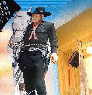 Hopalong Cassidy Cardboard Cut-out Tombstone Arizona 2004 Art Print