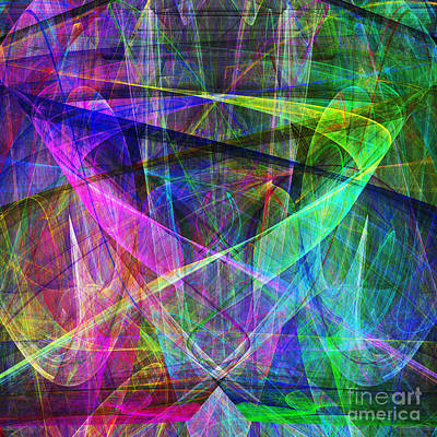 Fractal Geometry Digital Art - Hope 20130511 Square by Wingsdomain Art and Photography