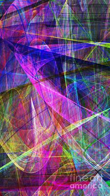 Fractal Geometry Digital Art - Hope 20130511v3 by Wingsdomain Art and Photography