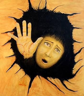 Depression Painting - Hope by Aditya Singh