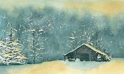Painting - Hope Amidst The Storm by Brett Winn
