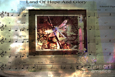 Candle Stick Digital Art - Hope And Glory by Beverly Guilliams