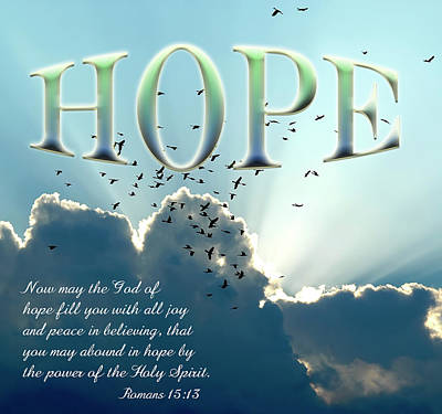 Hope Art Print by Carolyn Marshall