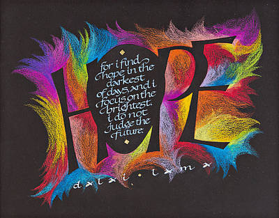 Hope Art Print by Claire Griffin