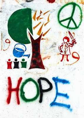 Photograph - Hope For Peace by Munir Alawi