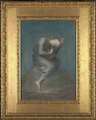 Sphere Painting - Hope, George Frederick Watts, 1817-1904 by Litz Collection