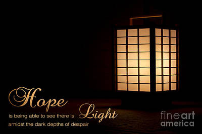 Photograph - Hope Is Light In The Darkness by Beverly Claire Kaiya