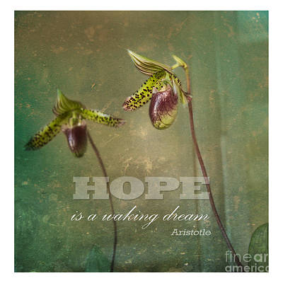 Hope Is Art Print