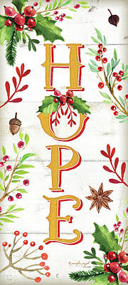 Hope Painting - Hope by Jennifer Pugh