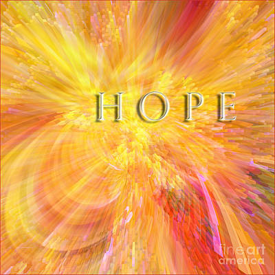 Digital Art - Hope by Margie Chapman