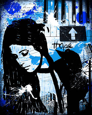 Giclee Mixed Media - Hope by Melissa Smith