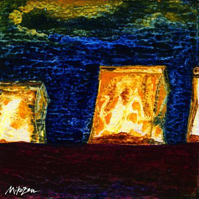 Luminaria Painting - Hope by Miko Zen