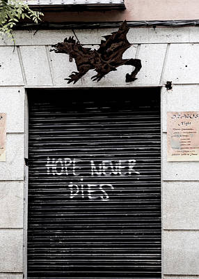 Photograph - Hope Never Dies by Lorraine Devon Wilke