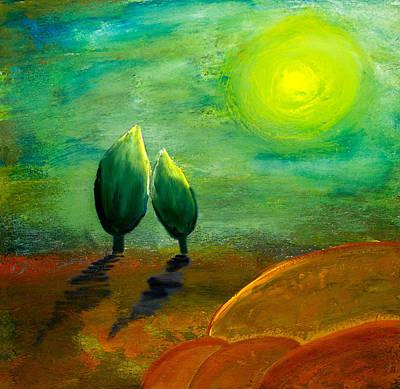 Candid Painting - Hope by Nirdesha Munasinghe