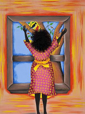 Gullah Painting - Hope by Patricia Sabree