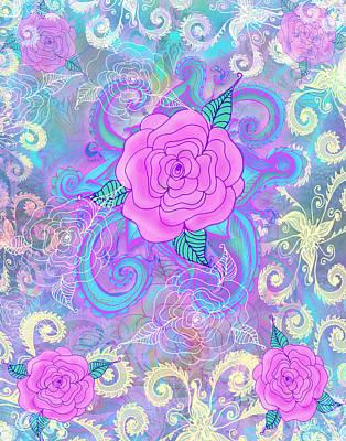 Hope Roses Art Print