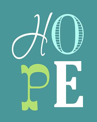 Hope Painting - Hope by Tamara Robinson