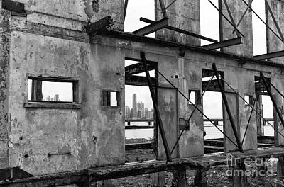 Photograph - Hope Through The Windows Mono by John Rizzuto