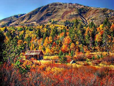 Rustic Barns Photograph - Hope Valley Fall Color by Scott McGuire